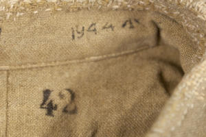 1944 British Army kaki flannel shirt, lemagasin, le magasin