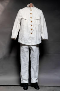 Early 1900's french army colonial linen suit, lemagasin, le magasin