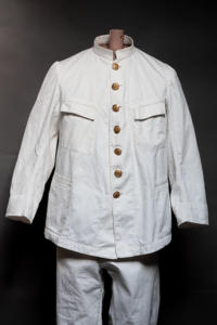 IMG 0558Early 1900's french army colonial linen suit, lemagasin, le magasin