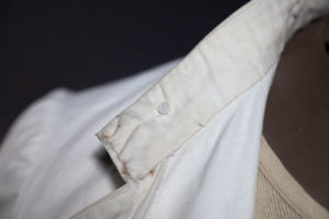 IMG 0564Early 1900's french army colonial linen suit, lemagasin, le magasin