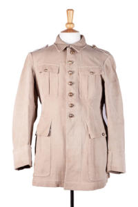 1920's french beige pique game keeper ensemble