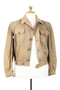 1940's french linen cycliste jacket, lemagasin,  vintage clothing, french workwear, antique clothing, french antique clothing