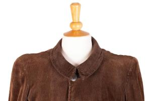 1940's french cord jacket, lemagasin,  vintage clothing, french workwear, antique clothing, french antique clothing, vintage cord