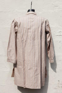 1940's deadstock french striped flannel shirt, lemagasin, le magasin