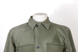 WWII US Army HBT fatigue uniform, lemagasin, vintage clothing, french workwear, french clothing