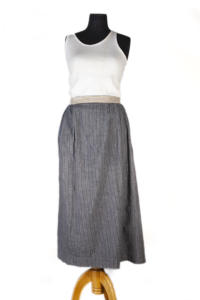 1930's woman linen skirt, lemagasin, le magasin