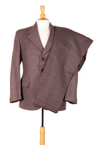 1940's deadstock french wool suit, lemagasin, le magasin