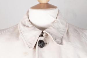 1930's french driver/ coachman linen coat