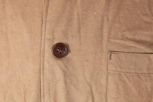 1950's french army linen relaxed outfit