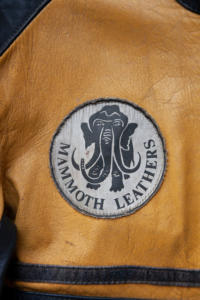 1970's british Mammoth motorcyclist leathers