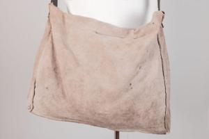 Circa 1920 french linen musette, lemagasin,  vintage clothing, french workwear, antique clothing, french antique clothing,