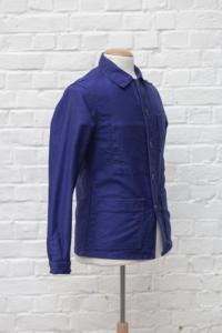 1960's french blue moleskin jackets