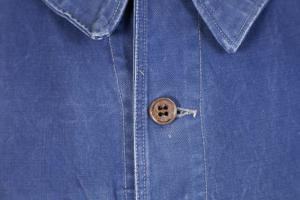 1950's Le Pigeon Voyageur french blue work jacket