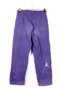 1950's french indigo cotton work pants, lemagasin, le magasin, vintage clothing