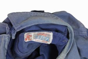1950's SAVO belgian blue work jacket