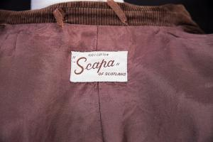 scapa, scotland, velours, cord, coat, jacket,vintage,lemagasin, le magasin, loiseauraretournai