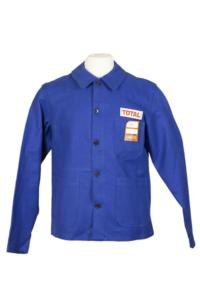 1970's french Total blue work jackets