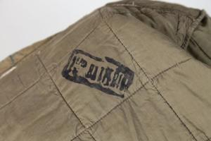 1950's french army quilted jacket War of Algeria, lemagasin,  vintage clothing, french workwear, antique clothing, french antique clothing