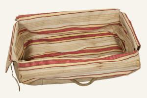 1930's french canvas travel handbag, lemagasin, le magasin, vintage clothing, frenchvintage, frenchworkwear, frenchantique, french workwear, vintage bag
