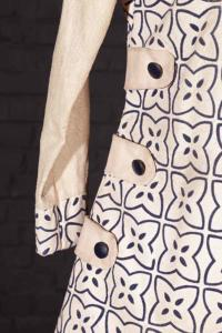 Circa 1960 french woman tunic